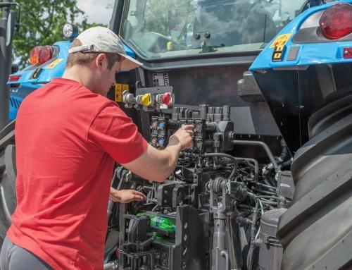 Mantenimiento de la maquinaria agrícola